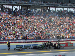 Brittany Force round 1 Gatornationals