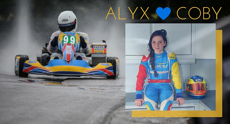 Ireland Karting Driver,  Alyx Coby