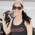 A relaxed pace for Pro Stock Motorcyle's Katie Sullivan