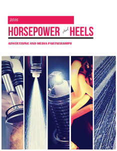 Horsepower & Heels 2016 Advertising Opportunities