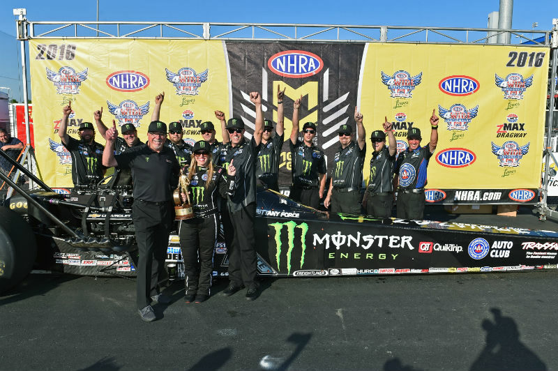 4-Wide Win for Brittany Force
