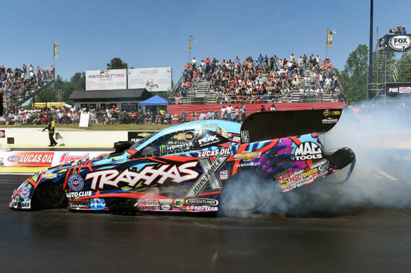 Semifinal finish for Courtney Force in Atlanta