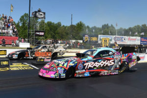Semifinal finish in Atlanta for Courtney Force