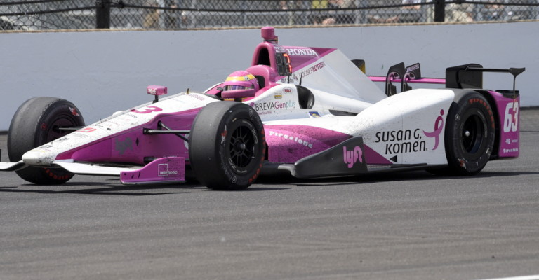 Career best finish for Pippa Mann at Indy 500