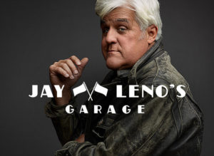 Larsen to appear on Jay Leno's Garage