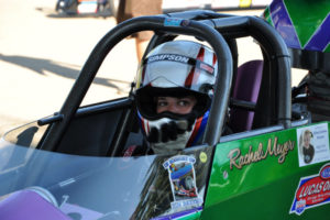 Rachel Meyer in Super Comp Dragster