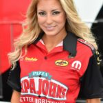 Papa John's Pizza joined Leah Pritchett