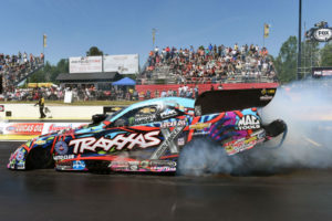 Courtney Force injured in Seattle