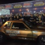 Haley James takes final Coyote Modified win