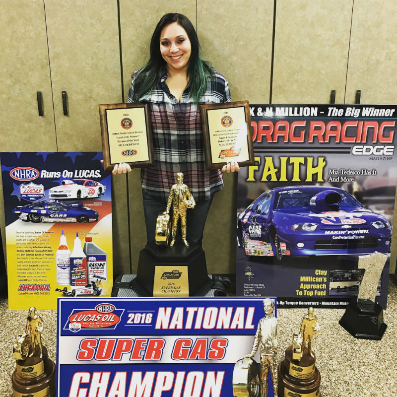 A stellar year for NHRA hotshoe Mia Tedesco