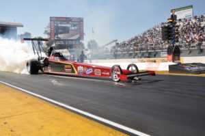 Randy Meyer Racing in action with Aeroquip