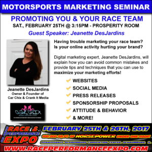 Motorsports Marketing Seminar