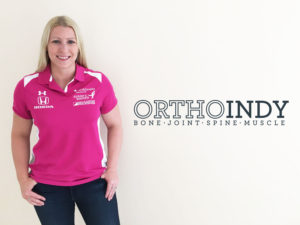 Pippa Mann Partners with OrthoIndy
