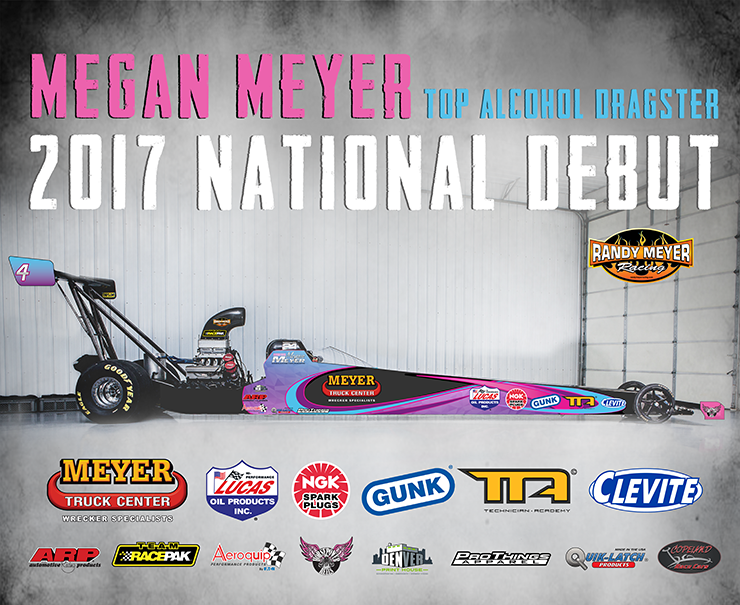 Megan Meyer debuts new 2017 livery