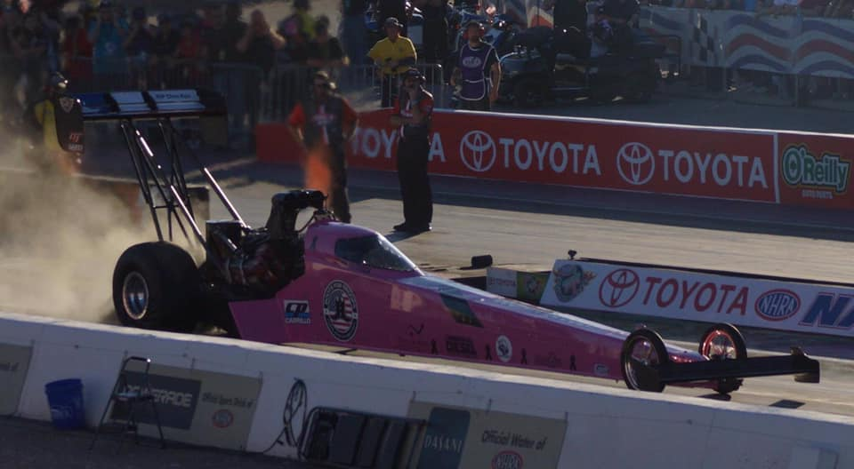 Audrey Worm new Top Fuel Dragster