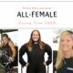Audrey Worm All Female Top Fuel team